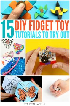 Follow these videos and tutorials to make your own DIY fidget toys! Fidget spinners, lego fidget cube, paper fidget toys and loads more ideas kids will love