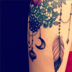"""Tattoo by Dodie """"L'heure Bleue"""""""