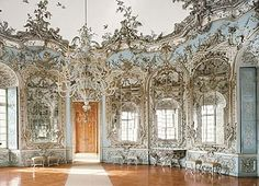 Amalienburg hunting lodge, like a winter forest.