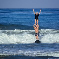 Seventy one year old, legendary surfer, Linda Benson tandem surfs with Bobby Friedman at Cardiff Reef, her first time tandem surfing in fifty years. Water Games, Surfs, Cardiff, Tandem, Swimsuits, Bikinis, Bobby, First Time, Lifestyle Blog