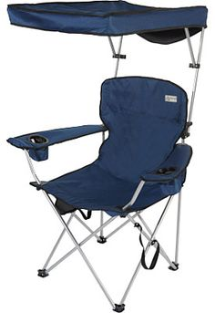 Quik Shade Fully Adjustable Folding Chair With Carrying