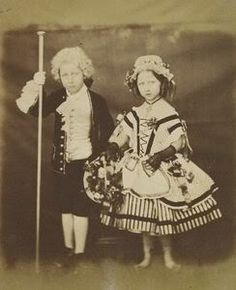 Princess Helena with her brother