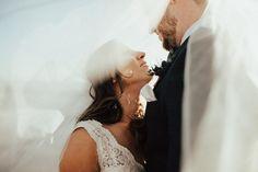 Creative shot through the bride's veil | Image by Shepard Visuals