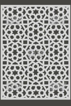 DS268 - Sticker moucharabieh - DECO-VITRES - Adhésif