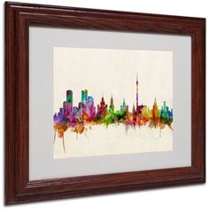 Trademark Fine Art Moscow, Russia Canvas Art by Michael Tompsett, Wood Frame, Size: 16 x 20, Multicolor