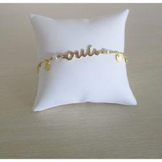 Bracelet mariage romantique- métal doré