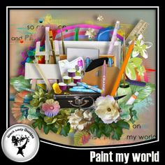 Paint my world by Black Lady Designs