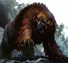 Owlbear - The 10 Most Memorable Dungeons & Dragons Monsters