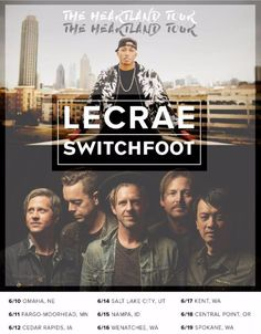 Lecrae & Switchfoot set for The Heartland Tour this June