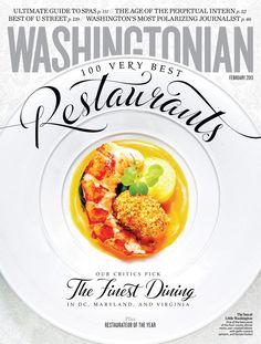 Washingtonian – February 2013 Cover - Luke Lucas – Typographer | Graphic Designer | Art Director