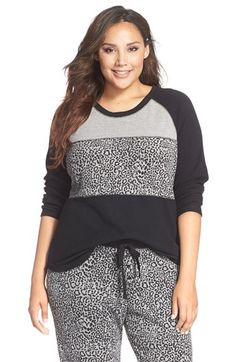 PJ Salvage Thermal Pajama Top (Plus Size) available at #Nordstrom