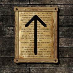 Wunjo viking print Rune illustration Futhark art on Old antique paper Dark Beige, Beige Color, Wicca, Sacred Meaning, Elder Futhark, Moon Print, Printed Pages, Home Wall Decor, Antique Prints