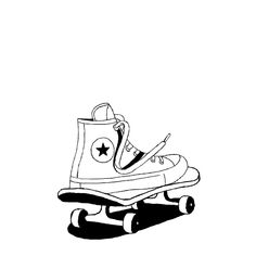 tombunker:  3 of 3 Gifs that I was recently commissioned by @giphy to make for @converse