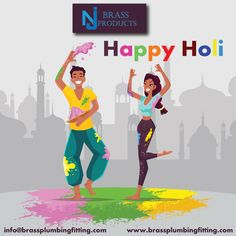 #HappyHoli wishes to you and your family. May you are bestowed with health, prosperity and success in your business. May your life is filled with beautiful colors. Happy Holi to you.