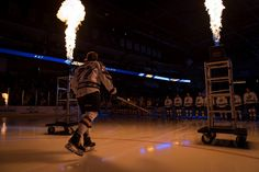 AJ Jenks opening Night Toledo Walleye, Opening Night, Hockey, Basketball Court, Concert, Sports, Hs Sports, Field Hockey, Concerts