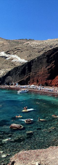The red Beach - Akrotiri Town - Santorini | Greece