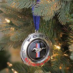 """Northlight 3 Officially Licensed Black and Red """"Ford Mustang"""" GT Logo Silver Plated Christmas Tree Ornament *** Details can be discovered by clicking on the photo. (This is an affiliate link). Mustang Logo, Ford Mustang Gt, Ford Gt, Gt Logo, Classic Car Insurance, Classic Mustang, Pony Car, Christmas Tree Ornaments, Silver Plate"""