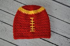 Iowa State Football Hat by clarebearhats on Etsy, $20.00