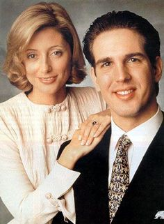 Pavlos, Crown Prince of Greece and Marie-Chantal Miller  Married: 1 July 1995 at St Sophia's Cathedral in London