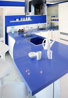 Those kitchen counters are fun! I want my counters to look like this!!!!