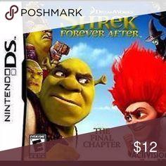 Shrek 4 Forever After - Nintendo DS Key Features PlatformNintendo DS ESRB RatingE - Everyone GenreAction, Adventure LocationUSA Nintendo Other