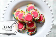 Iced Thumbprint Cookies recipes-to-try