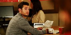 Pin for Later: 24 Supersexy Reasons to Love British Actor Julian Morris When He Showed Up on New Girl and You Did a Double Take