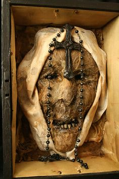 relic of first recorded possessed nun.