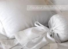 St. Geneve Linen Premier - Fine Hand Sewn Italian Duvet Covers and Bed Linens