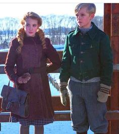 "Rudy and Liesel from The Book Thief. Sophie Nelisse (Liesel) and Nico Liersch (Rudy) perfectly fit my idea of them from the book. Best friends, always at odds, ""saumensch"" and ""saukerl""-ing...ugh, these two! I can't even. <3 <3 <3 