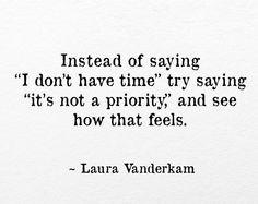#LauraVanderkam