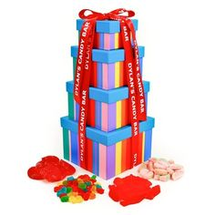 Dylan's Candy Bar Gummy Sweet Tower