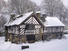 Bishops House, Sheffield, South Yorkshire - near my home town