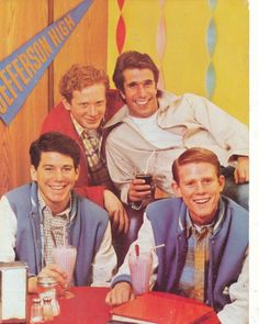 Happy Days - which one is Potsy and which one is Ralph Malph (Was that really his name on the show?)