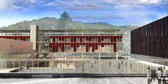 Galería - Alberto Moletto + Sebastián Paredes, primer lugar en concurso del futuro edificio FADEU-CMPC - 2