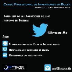 El inicio en Twitter, siguenos!!