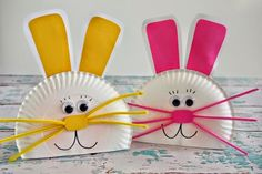 Easter Kids' Crafts and Activities Daycare Crafts, Bunny Crafts, Easter Crafts For Kids, Toddler Crafts, Easter Art, Preschool Crafts, Easter Bunny, Easter Ideas, Bunny Bunny
