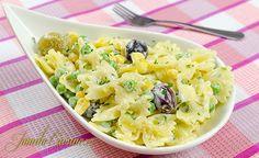 Salata de paste - reteta video Romanian Food, Romanian Recipes, Quick Easy Meals, Pasta Salad, Potato Salad, Macaroni And Cheese, Good Food, Awesome Food, Breakfast Recipes