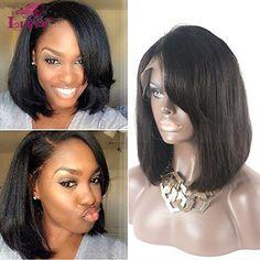 LUFFYWIG 6A Straight Bob Cut Style Short Human Hair Wigs ... https://www.amazon.com/dp/B01G1IHTVM/ref=cm_sw_r_pi_dp_x_LQwQxbFYK3BJ9