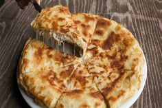 Here's a list of sweet and savory Vasilopita pies, aka New Year's Greek cake to welcome Greek Cooking, Easy Cooking, Healthy Cooking, Cooking Recipes, Vegan Recipes, Greek Recipes, Baby Food Recipes, Food Network Recipes, Food Processor Recipes