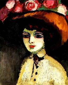 Kees van Dongen, Woman of Montmartre, 1911