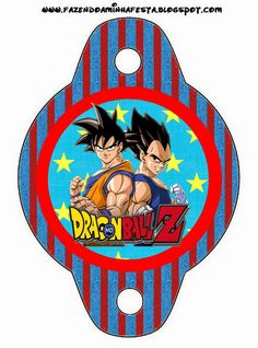 Dragon Ball Z Free Party Printables.
