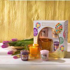 Coffret cadeaux bougies parfumées yankee candle