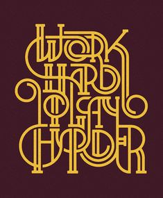 Work Hard to Play Harder - Pavlov Visuals