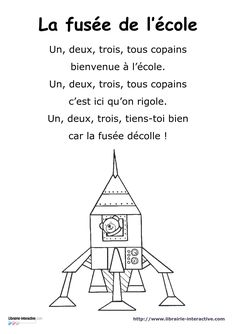 Excellent Pic first day of preschool poem Suggestions : You have done each of the research and chosen out of the excellent preschool for ones child. The other day, you've ma Transportation Songs, First Day Of School, Back To School, Teaching French Immersion, Preschool Poems, Preschool Class, French Poems, French Practice, French Teaching Resources