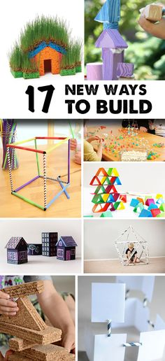 Summer has hit full stride and all the free time off school has lost its allure.  We've been swimming, hiking, adventuring and more!   So, now it's time to explore new activities that will satisfy the kids' natural curiosity and endless amounts of energy. We've picked our top 17 building activities, using everything from newspaper …