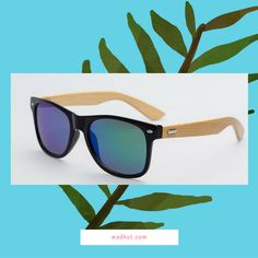 Look Cool In These Real Bamboo Frame Sunglasses (But look out for Pandas!) ;) Visit wadhut.com now! :) #entrepreneurlifestyle #travel #cosmetics #travelbag #makeup #igtravel #sunglasses #vintage #steampunk #sunglasses #bamboosunglasses #giftideas #gift #pandas #panda #tropical #beach #bamboo #astronaut #strangerthings #cats #catsofinstagram #ilovecats #dogsofinstagram #puglife #funny #fashion #shopping #girls #onlineshopping #jewelry