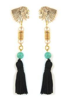 Tassel em brincos, colares, pulseiras, bolsas e muitos outros acessórios!