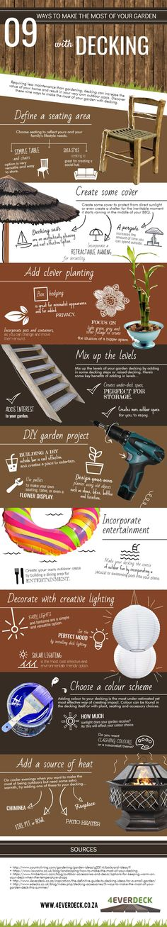 9 Ways To Make The Most of Your Garden with Decking