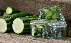 Zucchini eine gute Beilage zum grillen oder nur dazu essen. Man kann sie zum Frischverzehr zubereiten oder süß-sauer einkochen